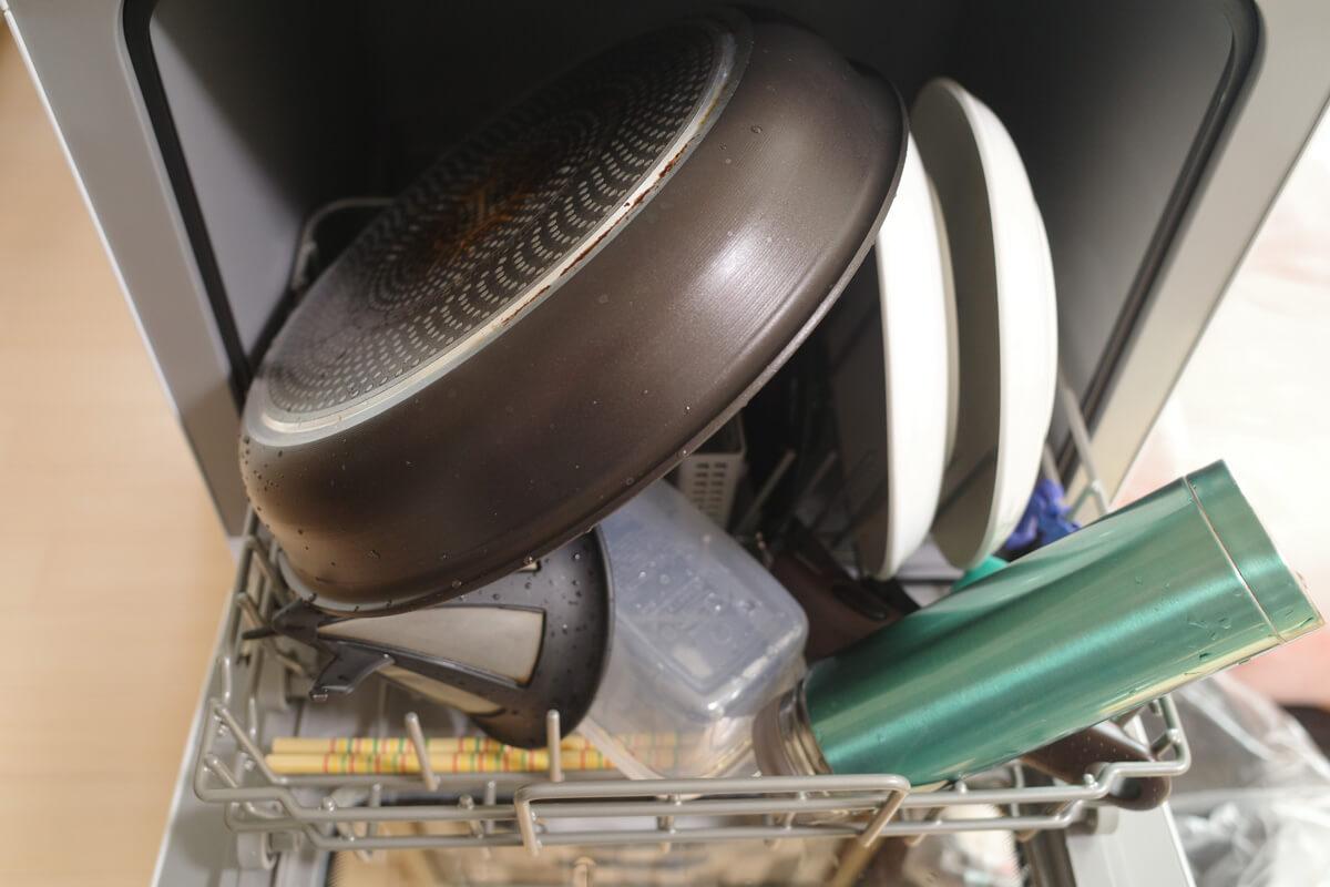 実際に使って気づいたシロカ食洗機のデメリットと解決法 食器の入れ方を工夫するのに時間がかかる