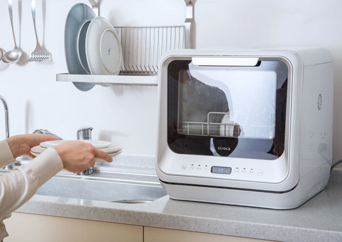 工事不要のタンク式食洗機とは