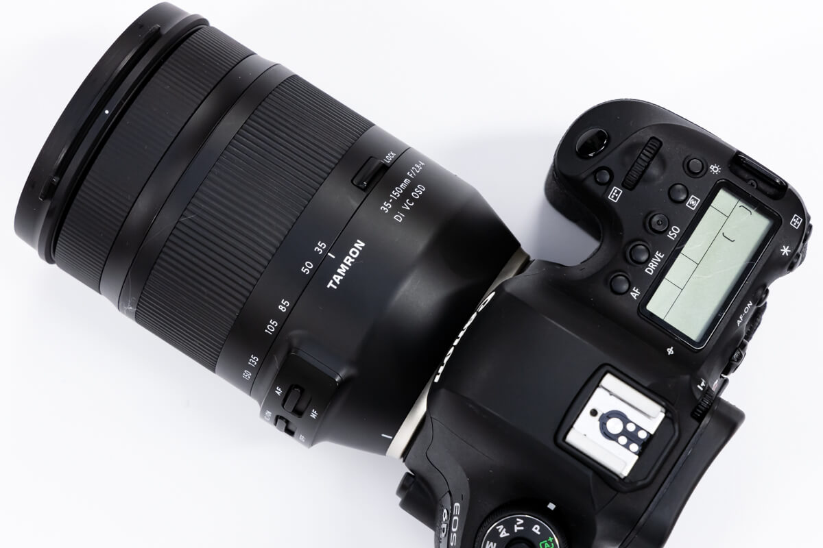 TAMRON 35-150mm F/2.8-4 Di VC OSD ズームリング 回転方向