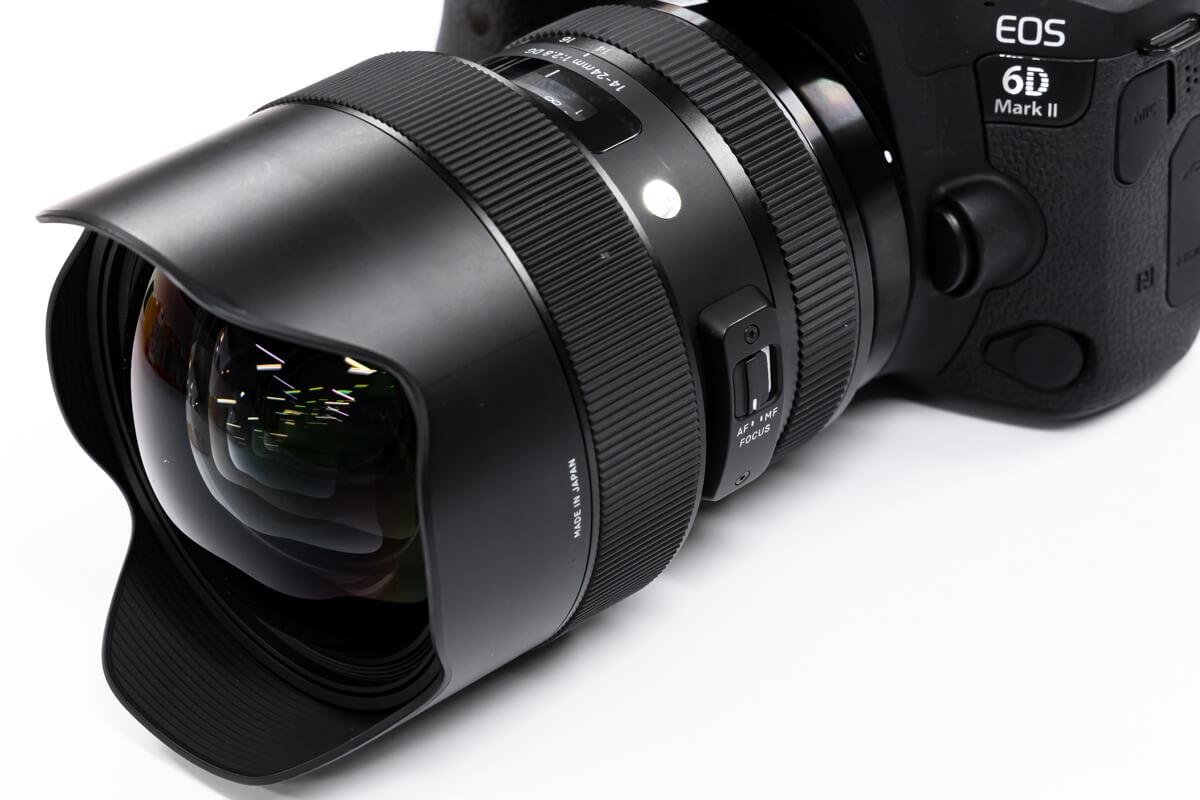 SIGMA 14-24mm F2.8 DG HSM Art レンズ 円形状