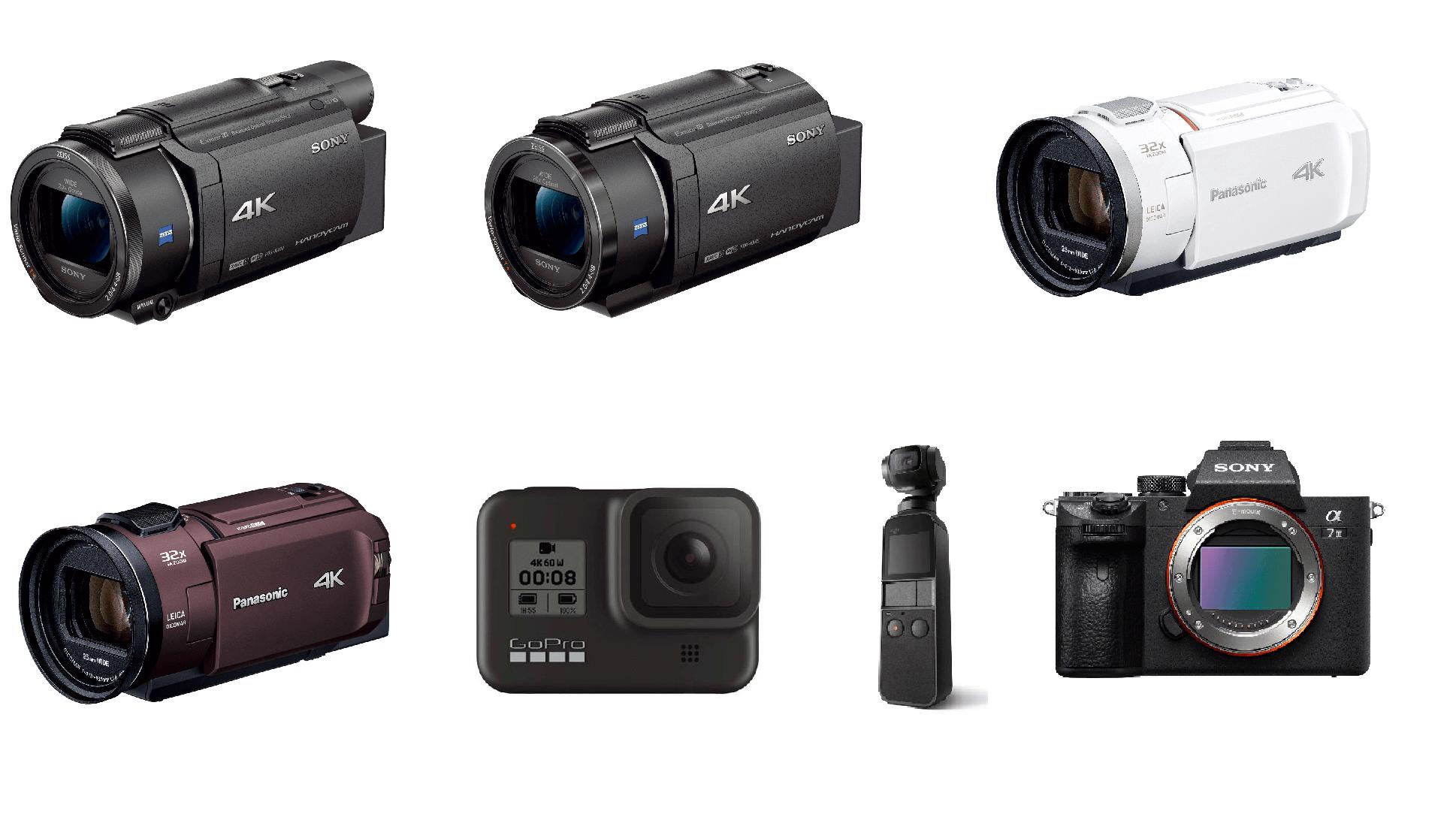 4Kビデオカメラ アイキャッチ