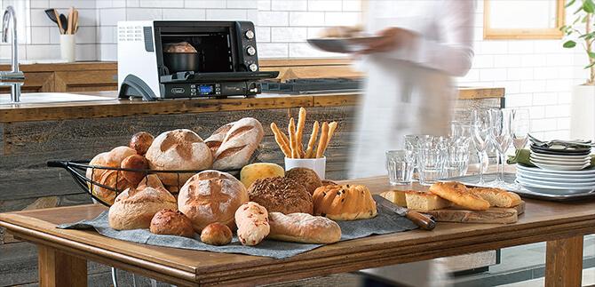 デロンギ オーブン・トースターの選び方で重要な4項目を比較