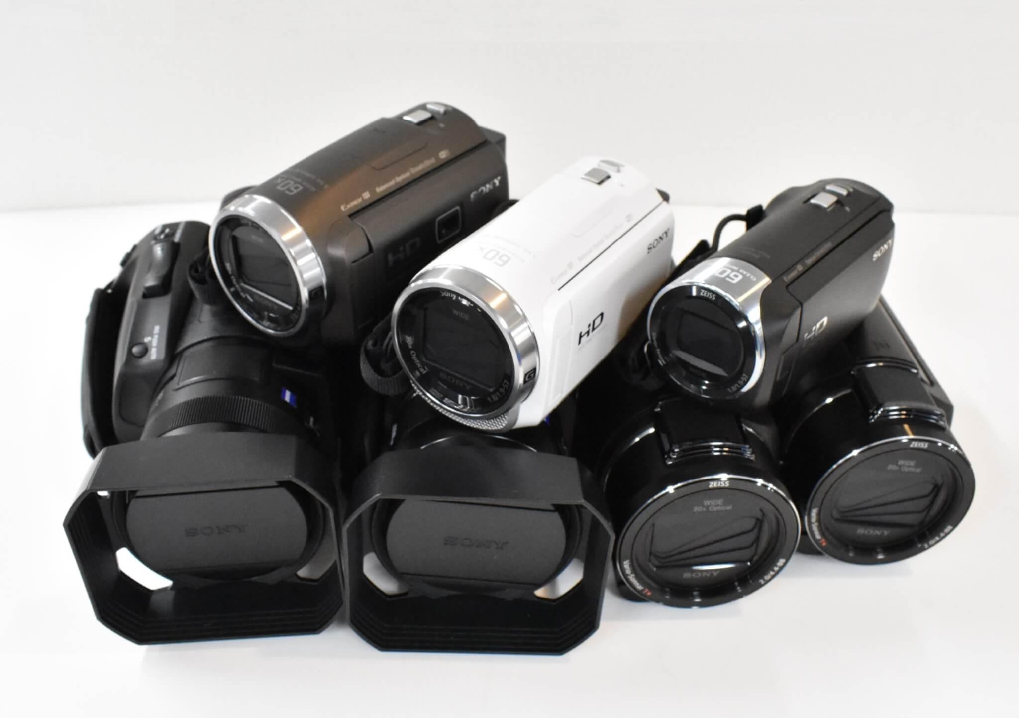 "[2020] SONYビデオカメラ""ハンディカム"" 最新全7機種を比較!おすすめと選び方を徹底解説"