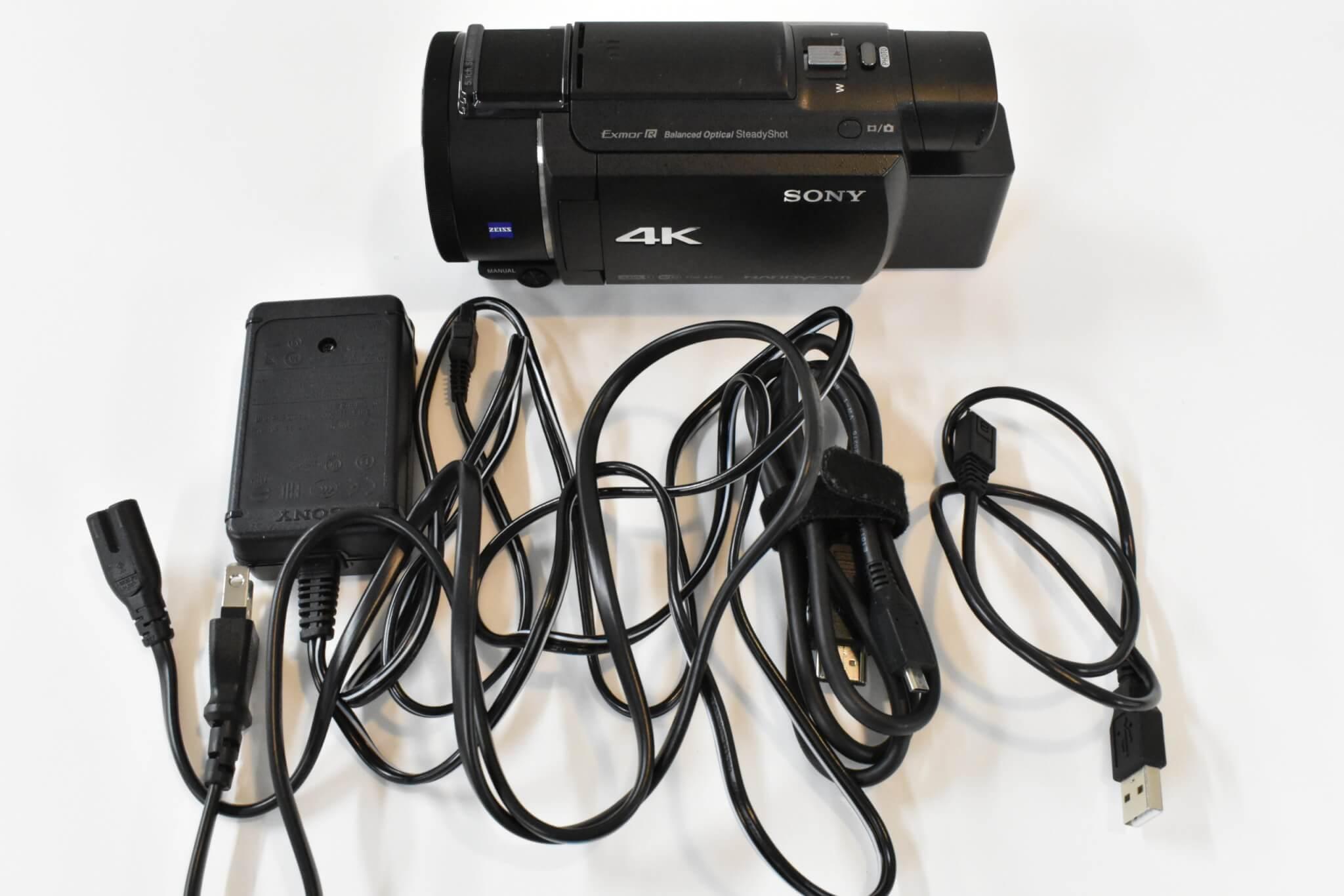 SONYハンディカム 最新全7機種を写真付きで紹介 FDR-AX60