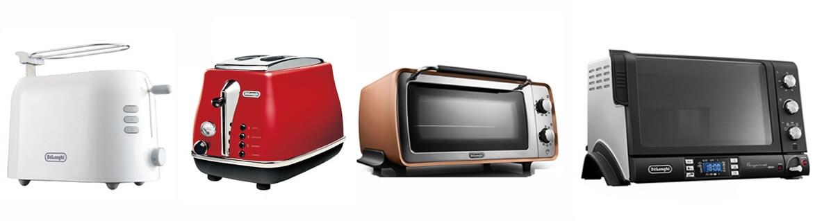 デロンギのオーブン・トースター全機種比較 まとめ