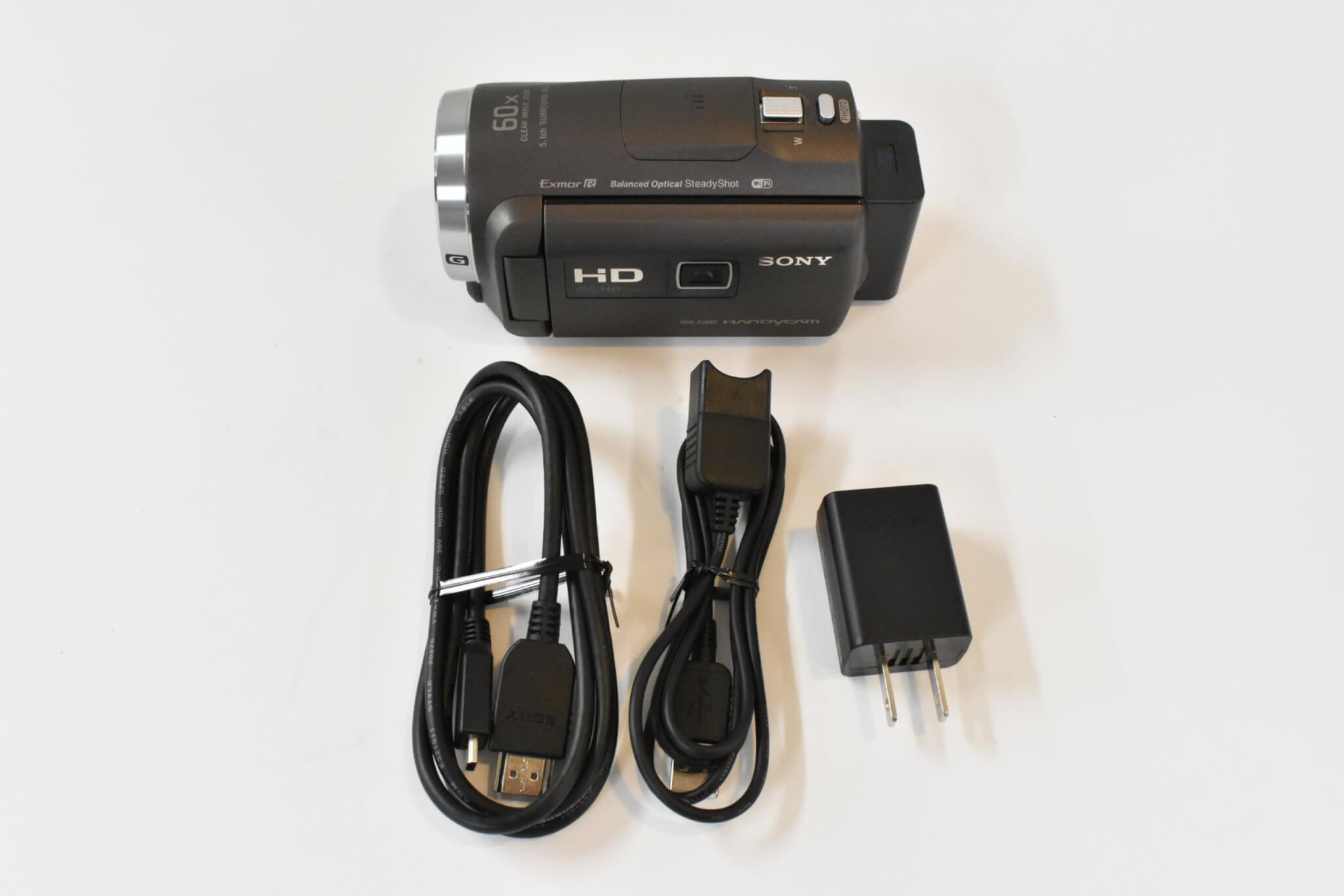 SONYハンディカム 最新全7機種を写真付きで紹介 HDR-PJ680