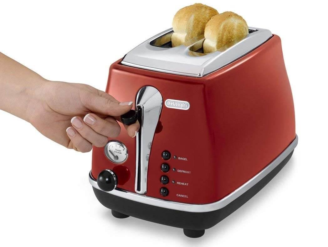 3種類のデロンギオーブン・トースター ポップアップトースター