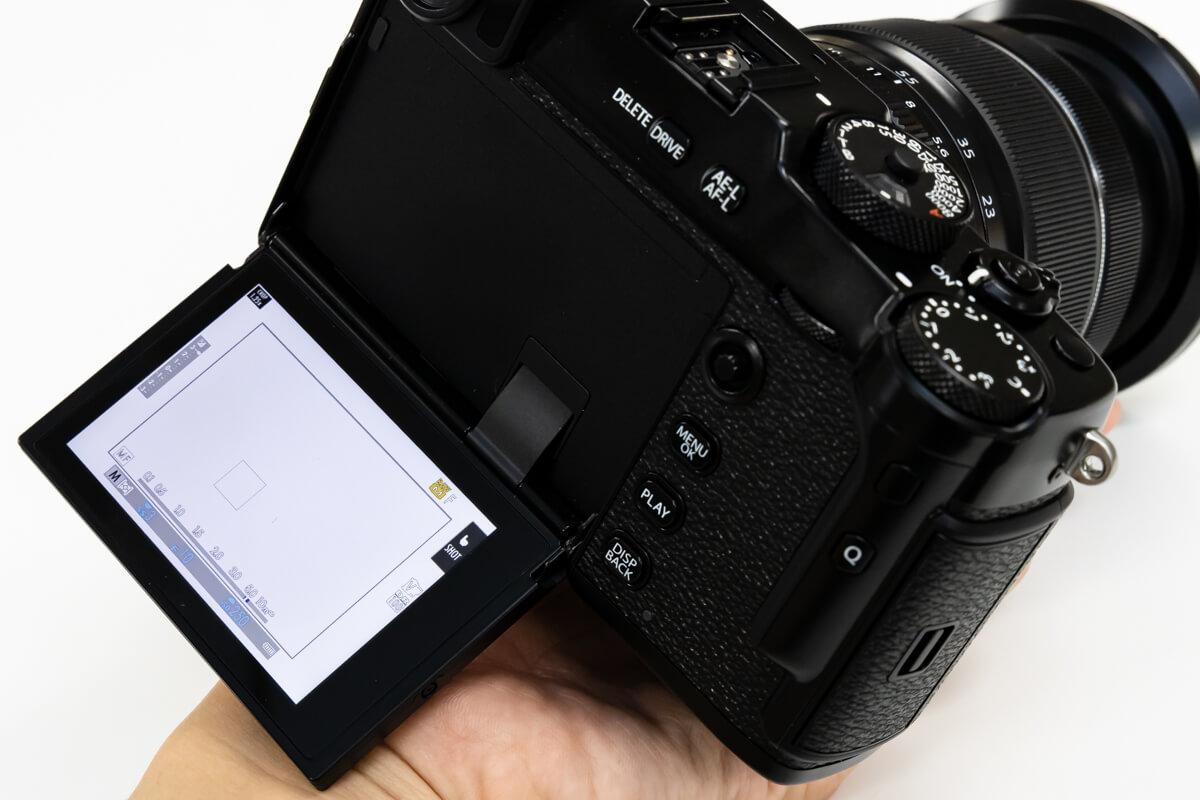 FUJIFILM X-Pro3 液晶画面