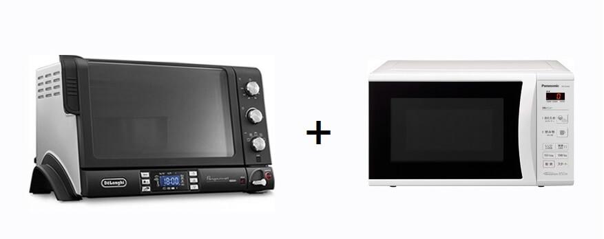 オーブン・トースター・レンジ系家電との違い 幅広い調理をするならコンベクションオーブン+電子レンジ