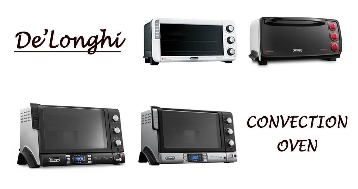 デロンギのコンベクションオーブンは全4機種。違いを比較し理想の一台を選ぼう