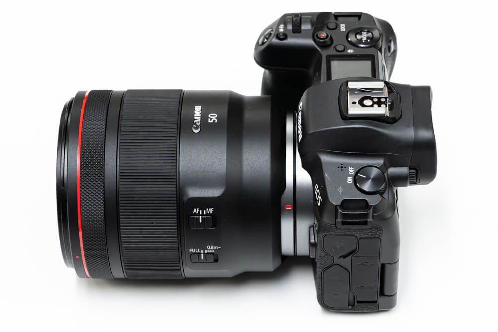 Canon RF50mm F1.2 L USM 大きさ