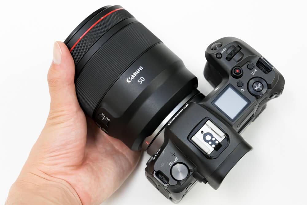Canon RF50mm F1.2 L USM 重さ