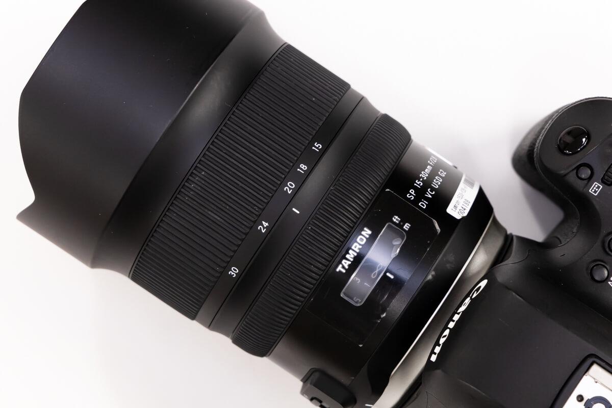 TAMRON SP 15-30mm F/2.8 Di VC USD G2 焦点距離域