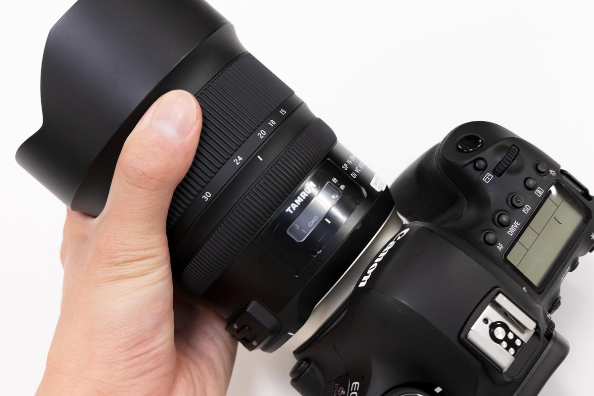 TAMRON SP 15-30mm F/2.8 Di VC USD G2 レビュー