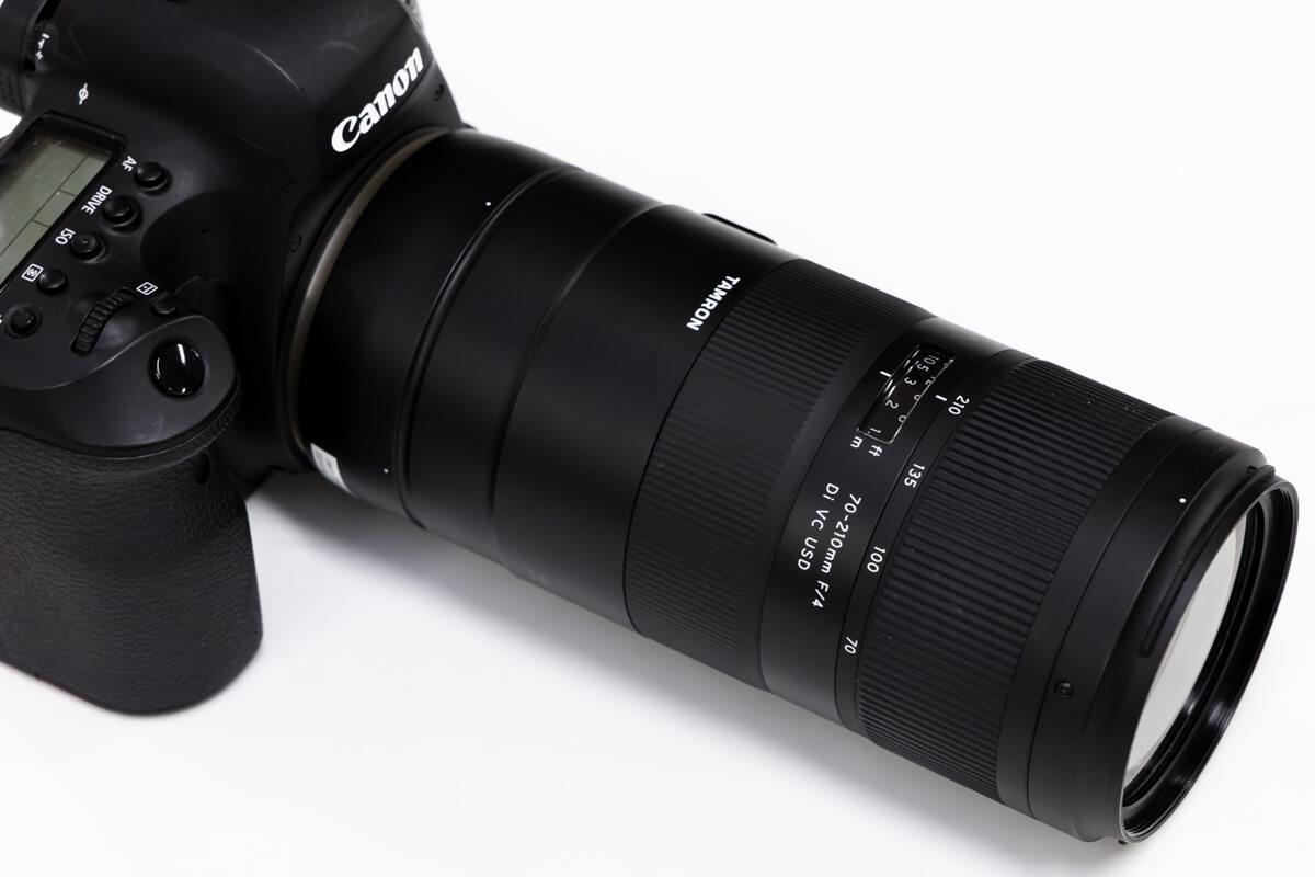TAMRON 70-210mm F/4 Di VC USD レビュー
