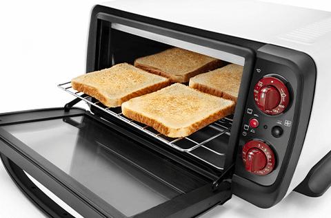 コンベクションオーブンの選び方 2. 容量 トースト枚数