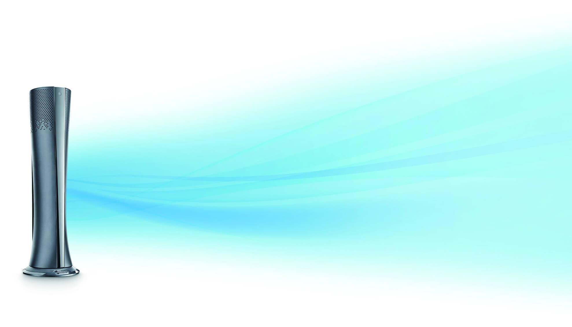 デロンギ「空気清浄機能付きファン」の特長 【涼風】冷えすぎないやわらかな風