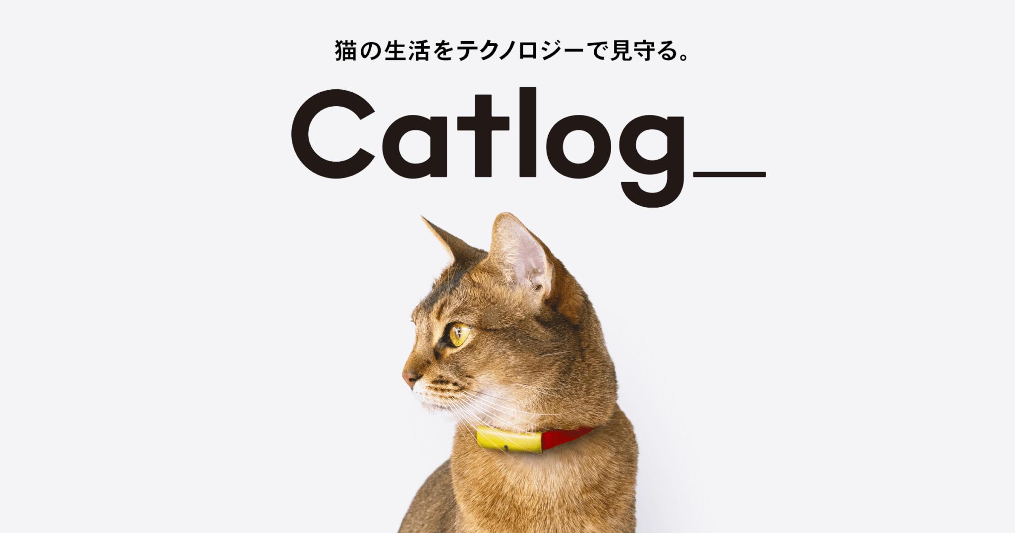 猫様の見守りができる首輪型デバイス「Catlog(キャトログ)」
