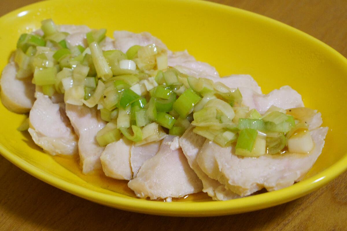 ホットクックで作れる包丁不要の超お手軽メニュー サラダチキン
