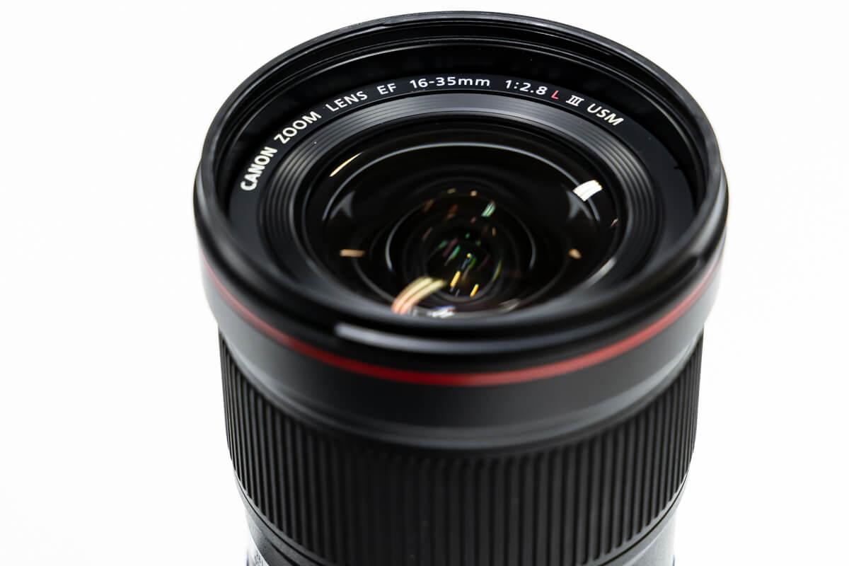 EF16-35mm F2.8L III USM デザイン性