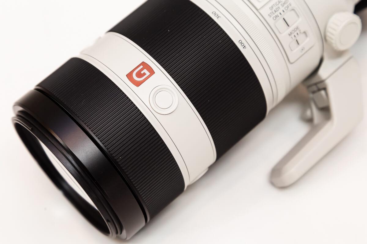 SONY FE 100-400mm F4.5-5.6 GM OSS フォーカスホールドボタン
