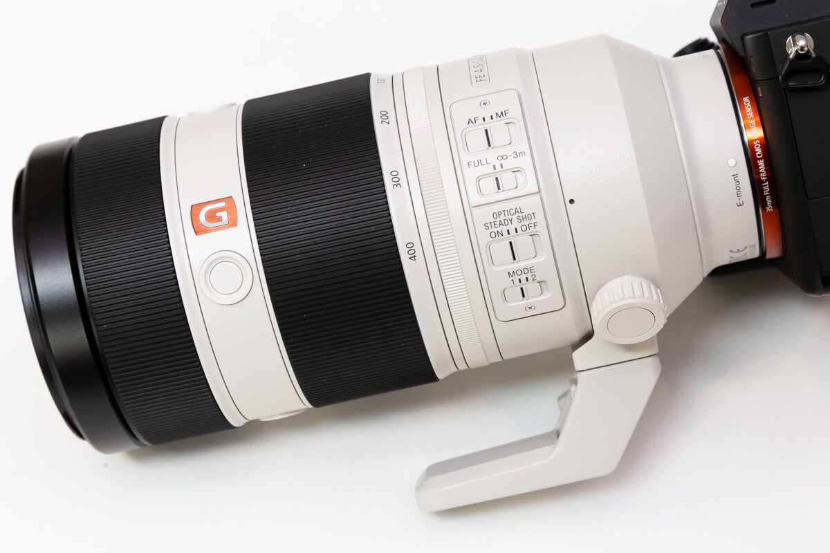 SONY FE 100-400mm F4.5-5.6 GM OSS 望遠レンズ