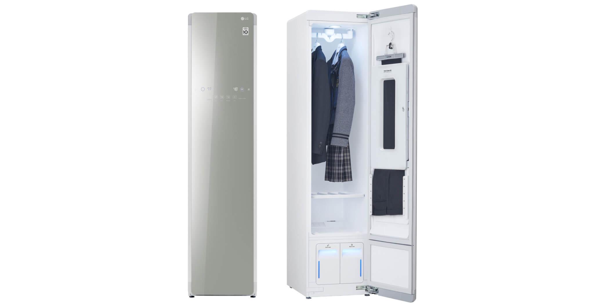 「入れるだけ」の衣類ケア家電 LG styler(スタイラー)