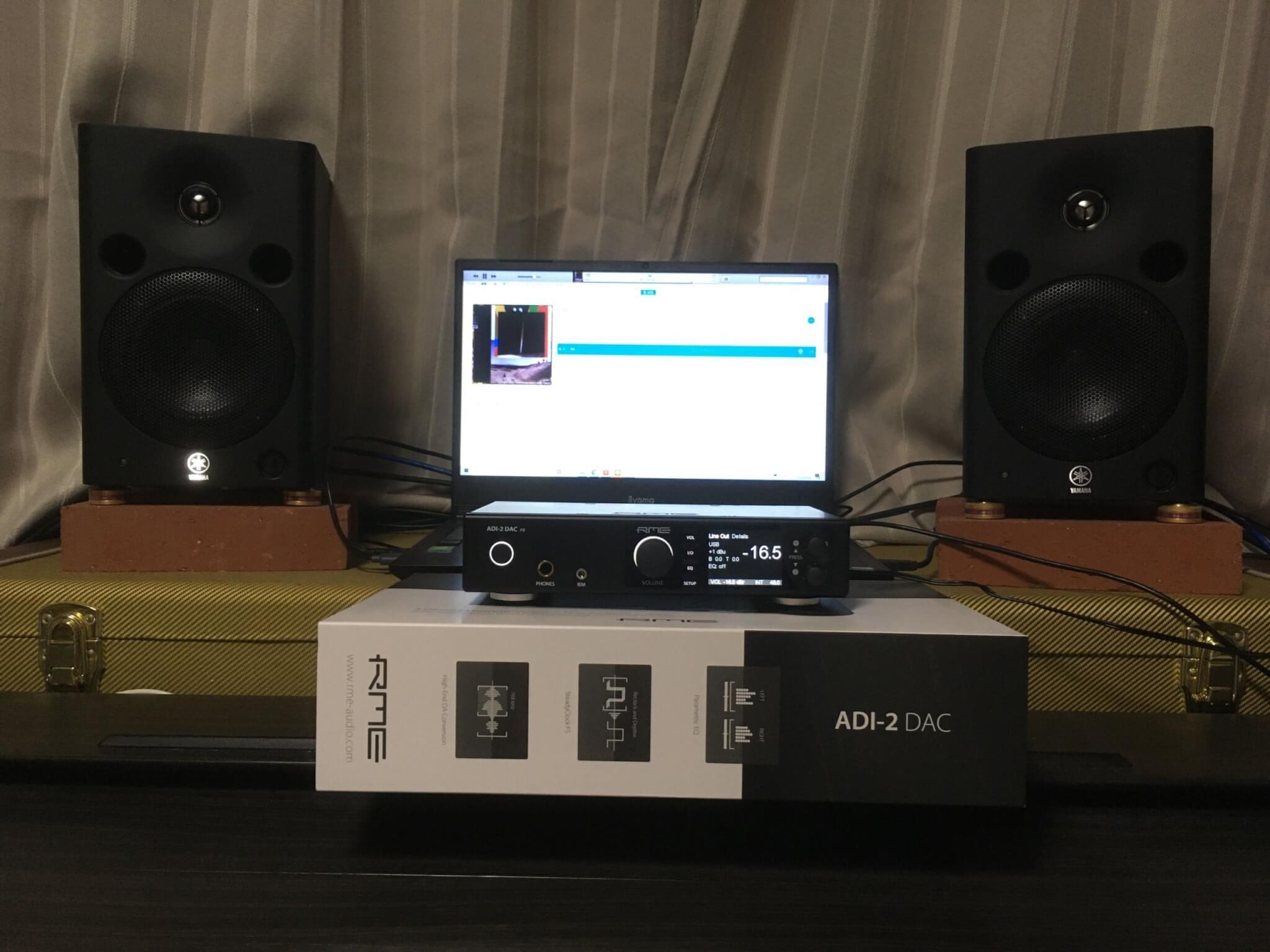 ADI-2 DAC FS 試聴