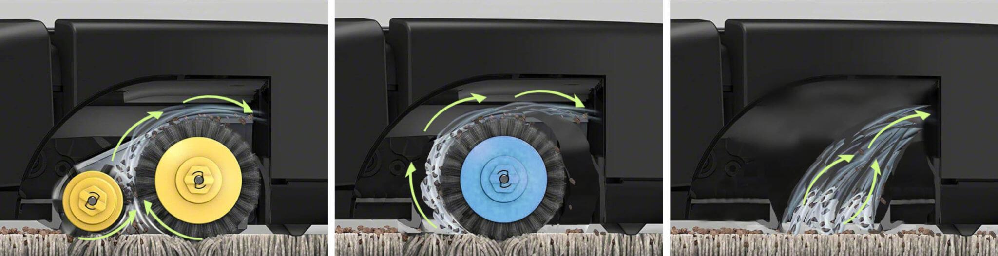 格安ロボット掃除機 人気9機種を4つの選び方で比較 1. 清掃能力 メインブラシの有無