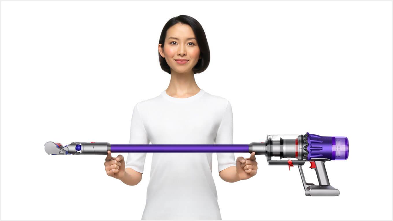 ダイソン デジタル スリムの特長 シリーズ最軽量1.9kg!コンパクトなダイソン