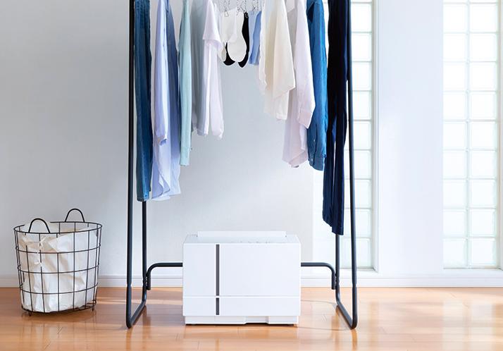 コンパクトに進化したPanasonicの衣類乾燥除湿機F-YHTX90をご紹介!一年中大活躍のハイブリッド方式除湿機