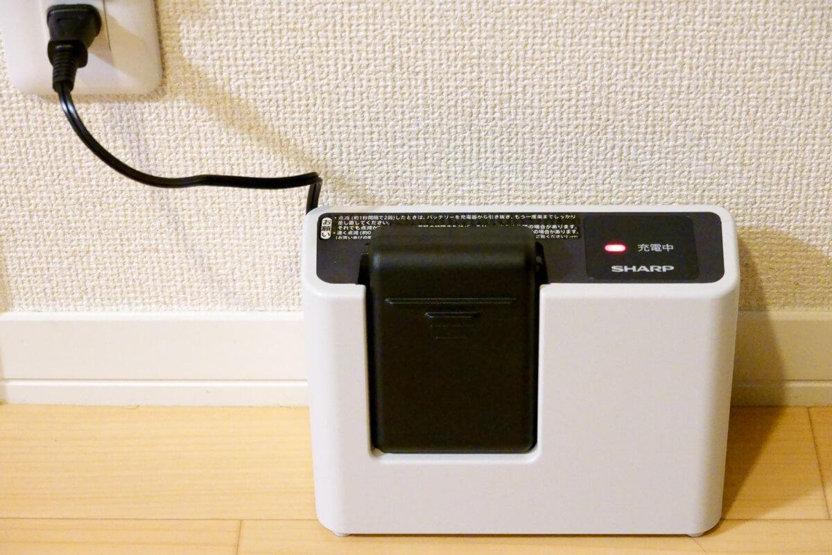 実際に「RACTIVE Air EC-VR3S」を使って掃除した感想 バッテリーもちも十分