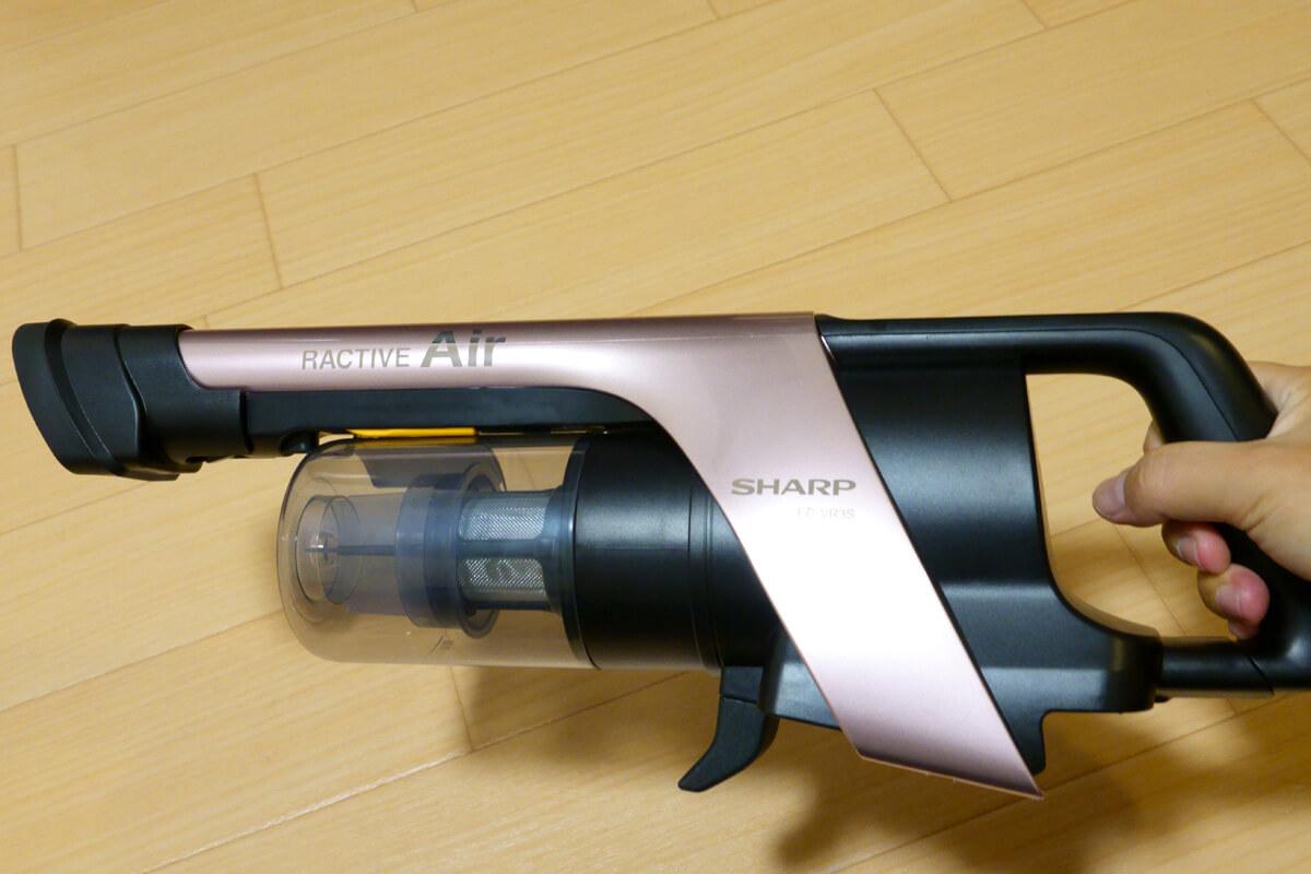 使ってわかった「RACTIVE Air EC-VR3S」の気になる注意点 布製品の掃除には別売ヘッドが必要