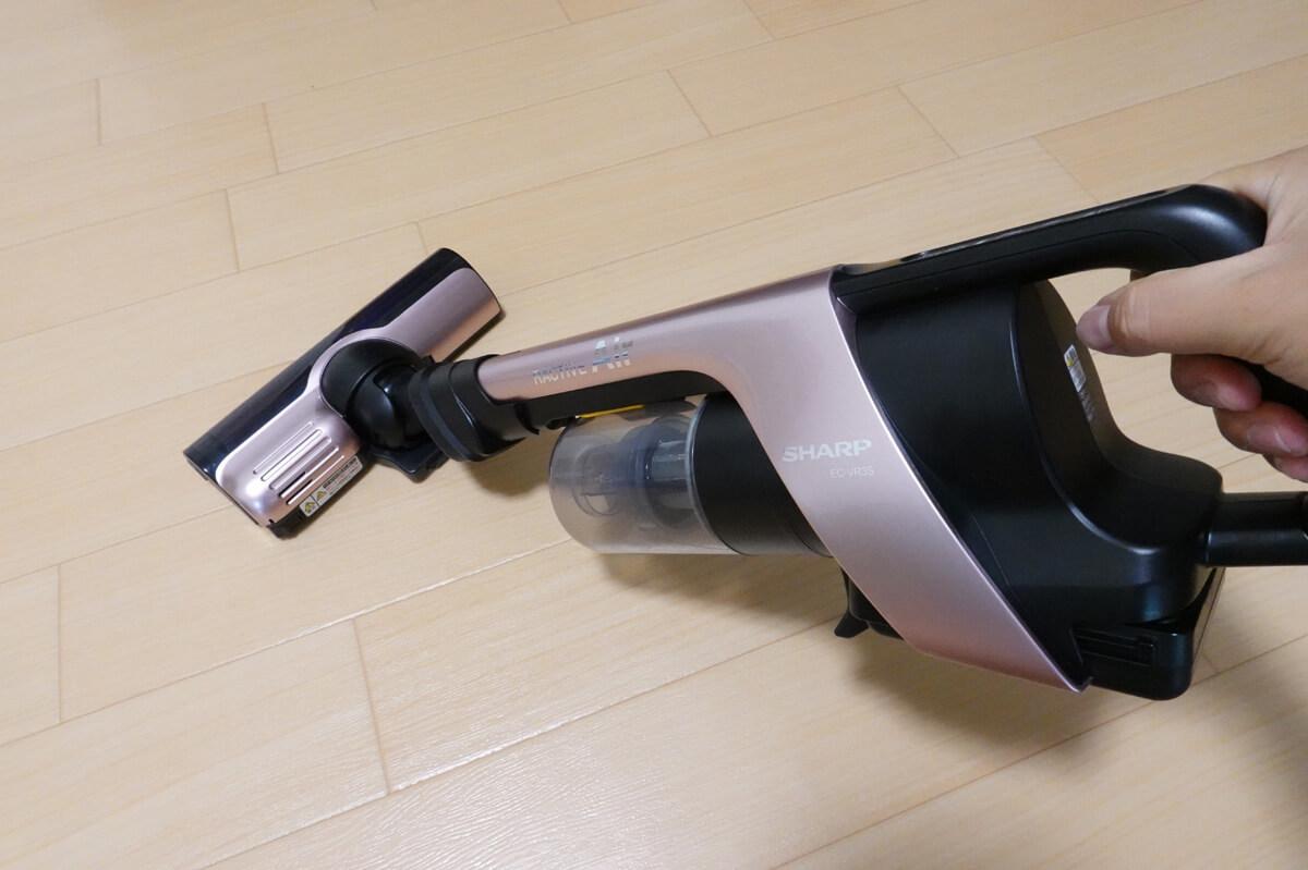 「RACTIVE Air EC-VR3S」開封&使用レビュー 清掃テスト