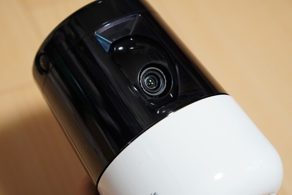 Panasonic HDペットカメラ KX-HDN205 の特長 上下左右に動かせる高画質カメラ