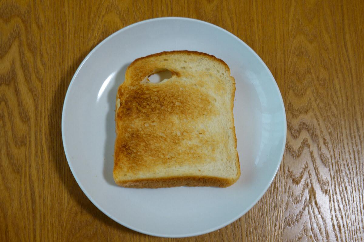 「すばやき おまかせ ST-2D251」を使って調理 トースト2枚