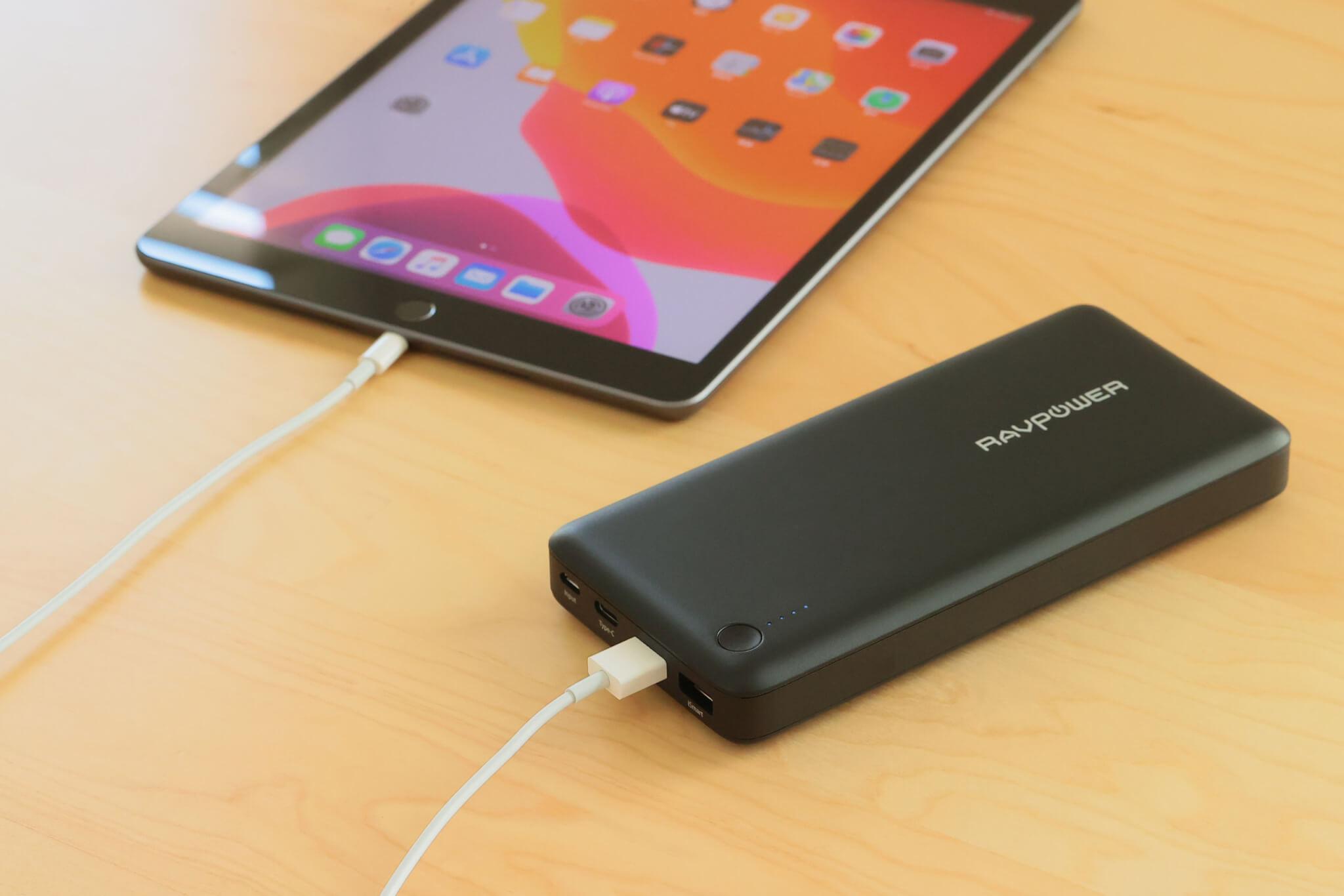 タブレットを充電するRP-PB058