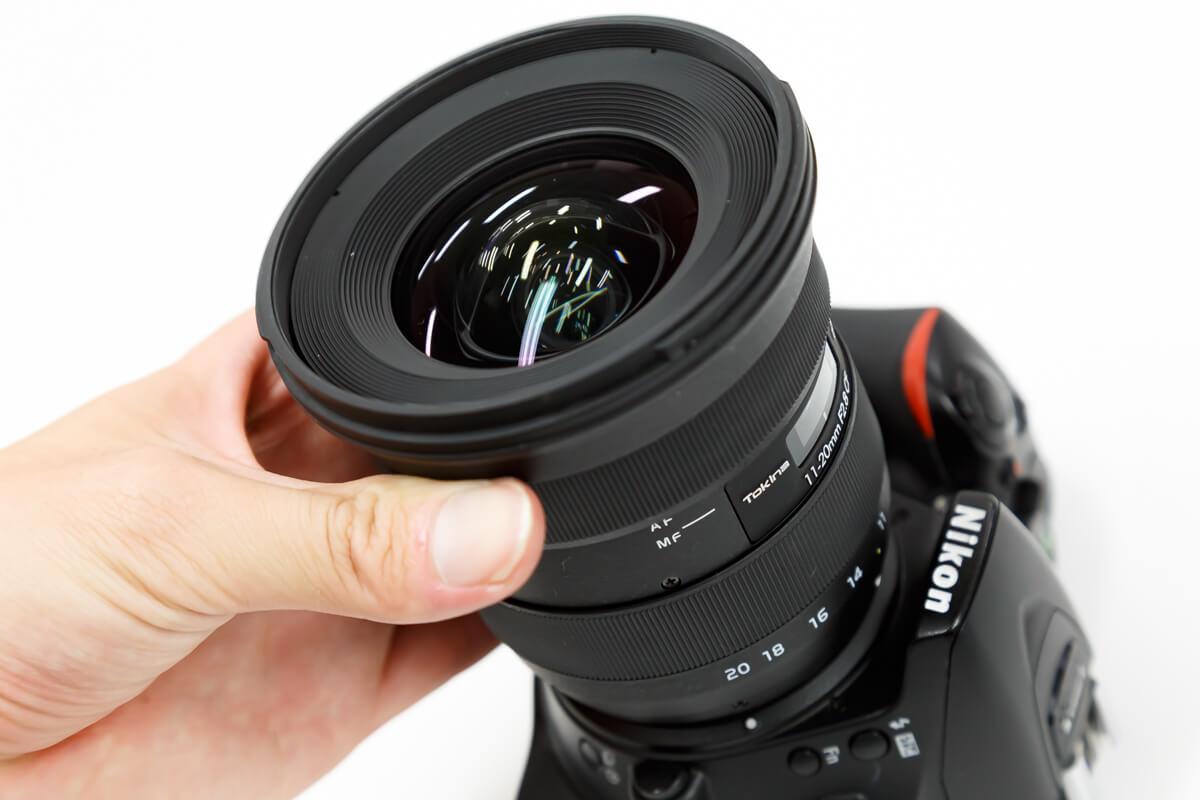 Tokina atx-i 11-20mm F2.8 CF ワンタッチフォーカス機構