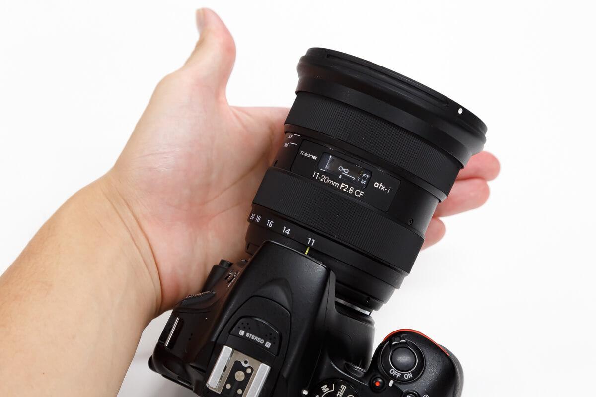 Tokina atx-i 11-20mm F2.8 CF 小型 軽量