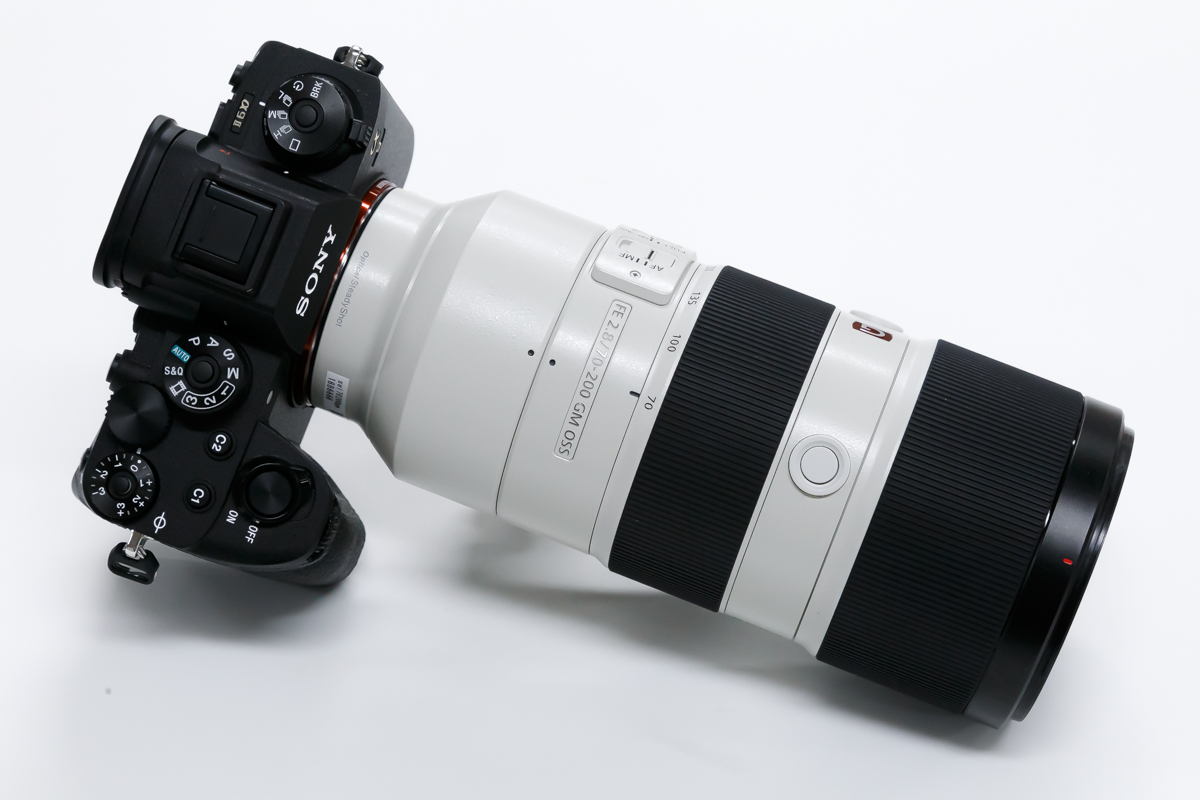 SONY FE 70-200mm F2.8 GM OSS 白色 レンズ