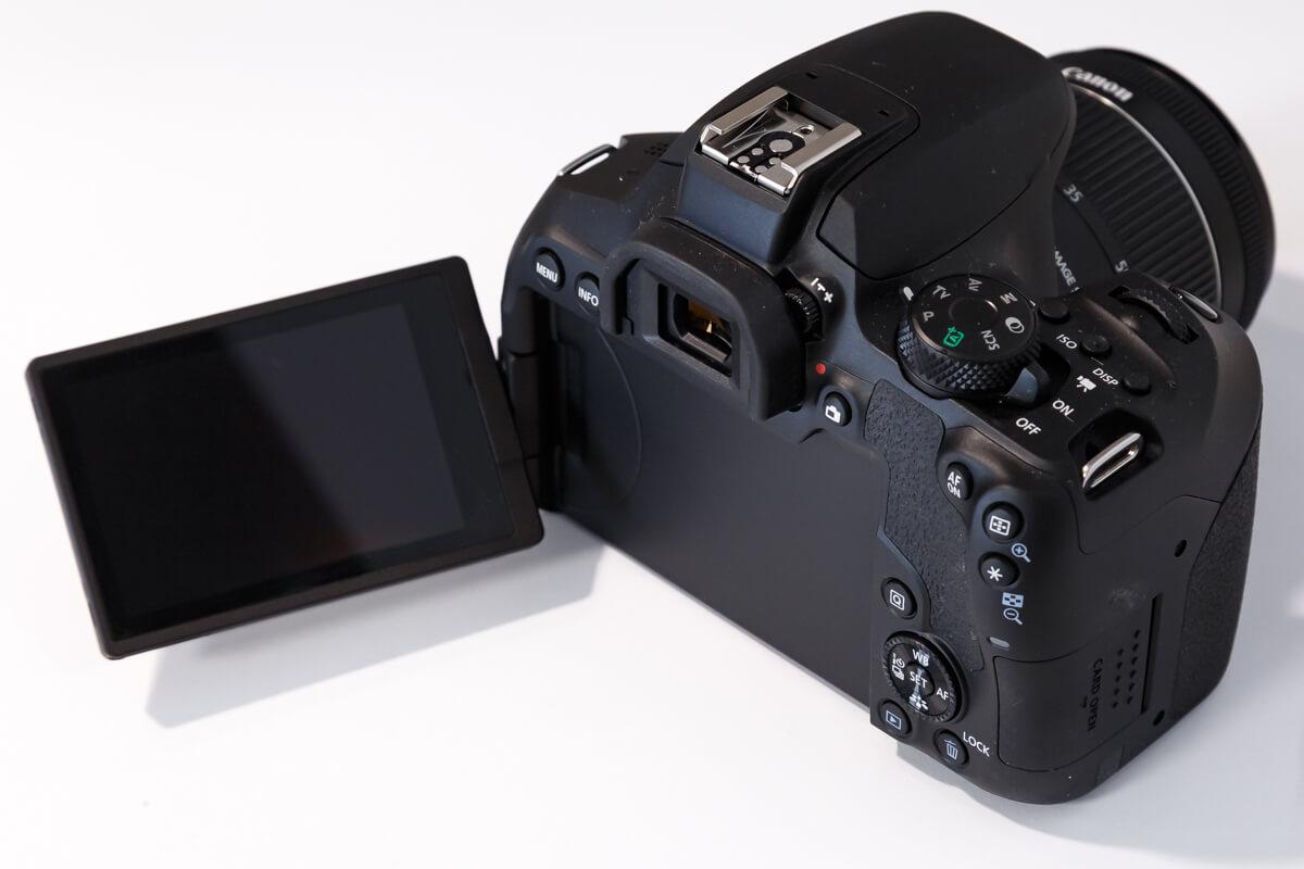 Canon EOS Kiss X10i バリアングル液晶
