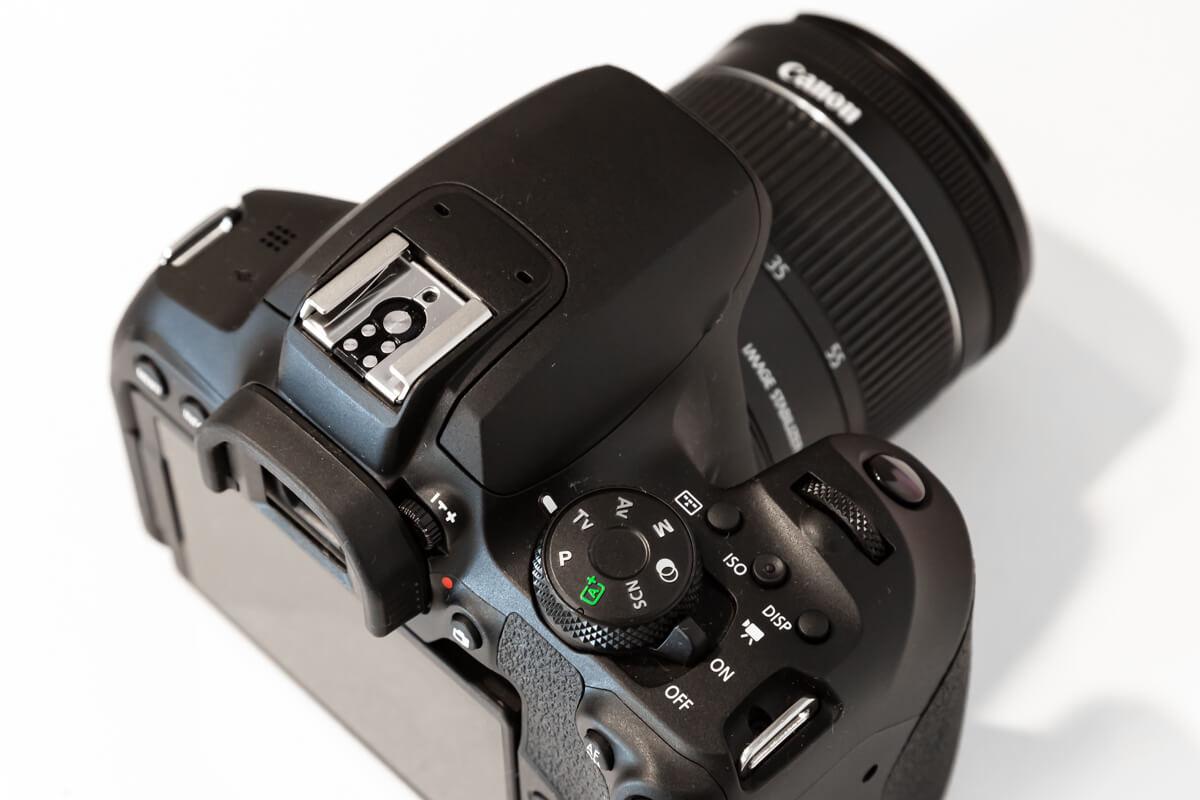 Canon EOS Kiss X10i モードダイヤル