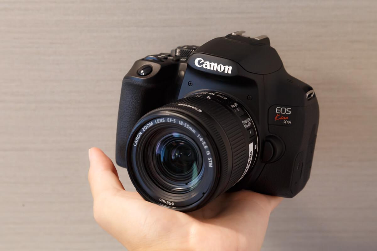 Canon EOS Kiss X10i 携帯性