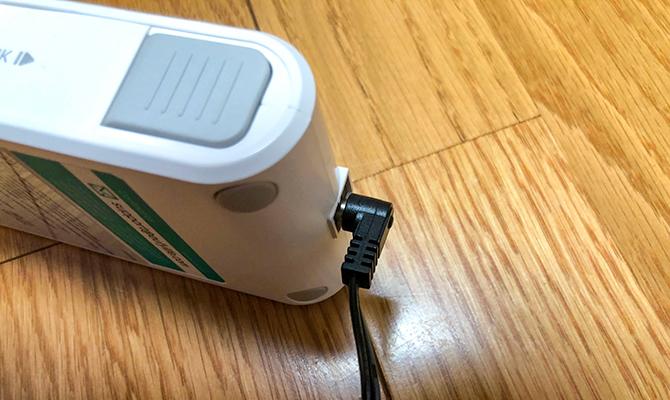 Eufy HomeVac S11 Goのバッテリー