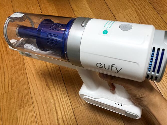 Eufy HomeVac S11 Goの掃除機本体