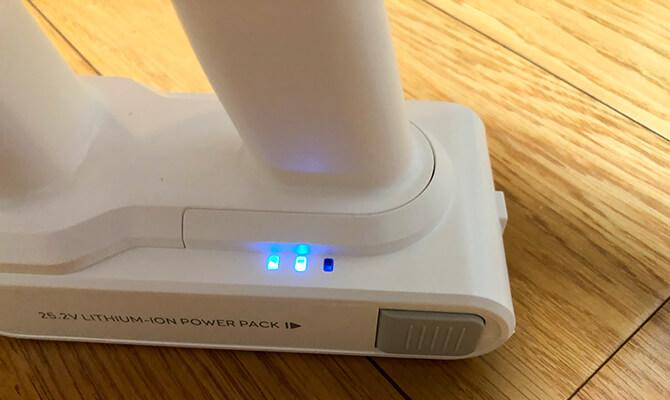 Eufy HomeVac S11 Goのバッテリー残量
