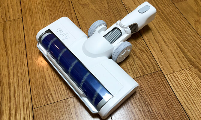 Eufy HomeVac S11 Goのクリーナーヘッド
