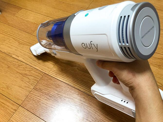 Eufy HomeVac S11 Goのコンビネーションノズル
