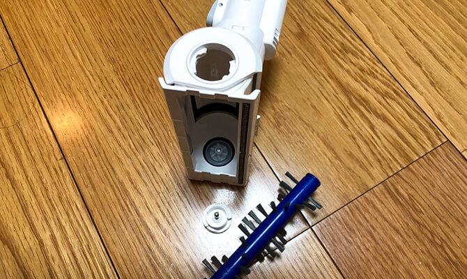 Eufy HomeVac S11 Goのミニモーターブラシ