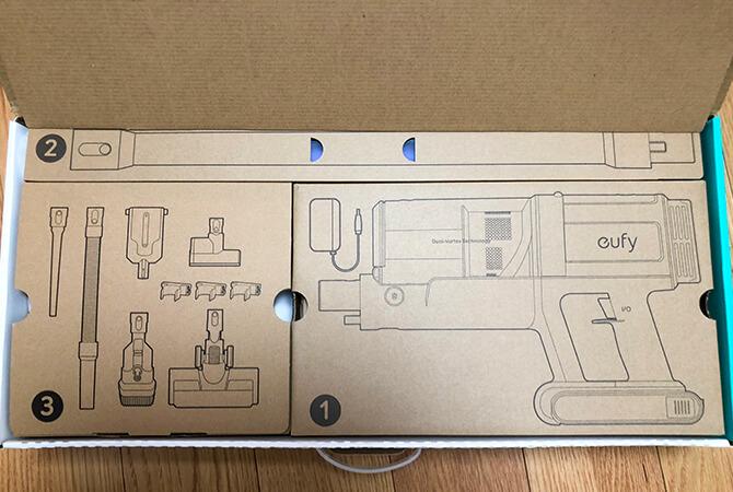 Eufy HomeVac S11 Goの外箱